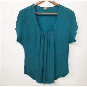 EUC Aritzia Babaton 100% silk blouse - 2xsmall